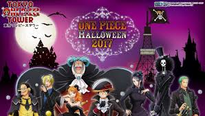 one piece tower to hold halloween event for over a month tokyo