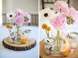 Mason Jar Flower Arrangement Vintage Chic Wedding Flower Centerpieces Mason Jars Weddings Eve
