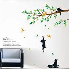 stickers geant chambre fille stickers muraux enfant animaux r f 15237 4 simpvale enfants