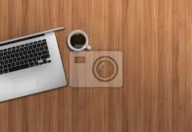 ordinateur portable bureau bureau affaires haut vue image mock haut ordinateur portable
