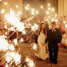 sparklers for weddings 36 inch wedding sparklers the original wedding sparkler company