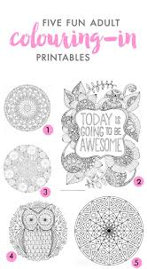 five of the best colouring in printables fat mum slim