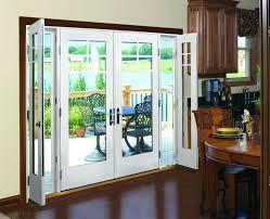 Center Swing Patio Doors Replace Door Stylish Replacing A Patio Door Replace Sliding