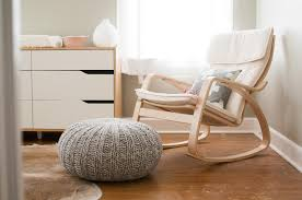 Wooden Rocking Chairs Nursery by Ikea Chair Design Poang Wooden Glass Rocking Chair For Nursery