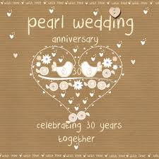 30 wedding anniversary 30th anniversary cards happy birthday cards for