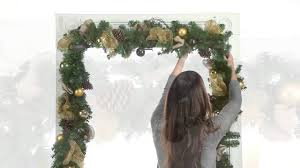 how to hang without nails garland hangers christmas decoration improvements catalog youtube