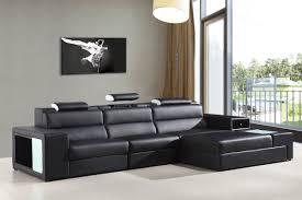 bonded leather sectional sofa casa polaris mini contemporary bonded leather sectional sofa