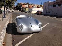 porsche speedster kit car 1957 porsche 356 replica subaru motor rat rod beetle concepts