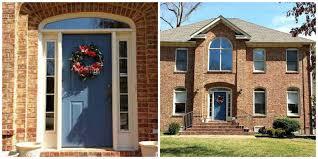 Exterior Door Color Outdoor Brick House Unique Front Door Color Brick House