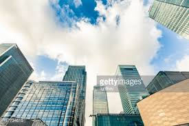 london glass building financial district glass buildings city of london stock photo