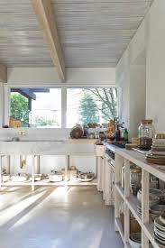 kitchen of the week a monumental marble countertop remodelista