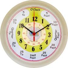 learn to tell the time clock bounce learning - Time Learning Clock
