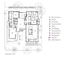 Classroom Floor Plan Maker Gallery Of Lunder Arts Center Bruner Cott U0026 Associates 11