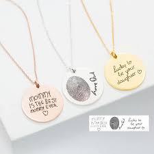 custom handwriting necklace handwriting necklace custom handwriting jewelry signature