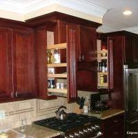 Cream Spice Rack Furniture Attractive Kitchen Decoration Design With Cabinet Pull