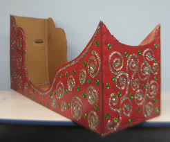 best photos of cardboard sleigh cut outs how to make a sleigh