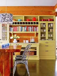 Orange Kitchens Ideas Yellow Kitchen Colors 22 Bright Modern Kitchen Design And