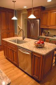 island sinks kitchen a compact island in a biltmore area kitchen remodel