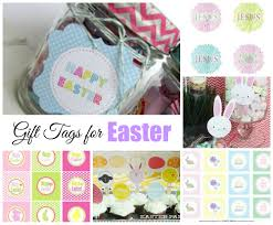 easter free printable gift tags celebrating holidays