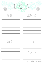 free printable to do lists printable to do lists