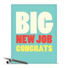 Greetings Card Designer Jobs Big New Job Congrats Big Ones Congratulations Greeting Card Nobleworks