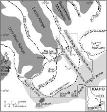 United States Map Rivers And Mountains by Digital Geology Of Idaho Snake River Plain Yellowstone