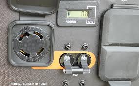 bighorn refrigeration backfeeding electrical panel with generator