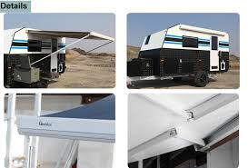 Rv Awnings Electric Electric Motorized Rv Aluminum Wrought Iron Awning Electric 4x4