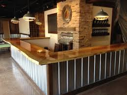 Bar Top 30 Custom Live Edge Sycamore Bar Top For Scorched Earth Brewery Our