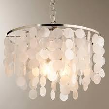 capiz flush mount light modern capiz shell chandelier shades of light