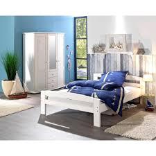 Schlafzimmer Betten Aus Holz Bett Simon 140x200 Fichte Weiß Lackiert Dänisches Bettenlager