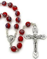 italian rosary rosary madonna sacred heart of jesus italian rosary 26 95