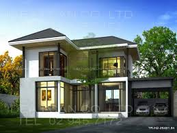 Blueprint House Plans by Bedroom House Plans As Well Flat Roof House Plans Designs