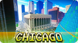 Map Chicago Metro by Minecraft Chicago City Loop In Minecraft Cinematic U0026 Map