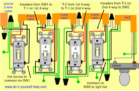 fascinating wiring diagram for 4 gang light switch inspiring