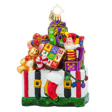 christopher radko ornaments radko treasures for tots packages