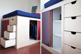 chambre petit espace lit petit espace idee amenagement chambre un dressing pour