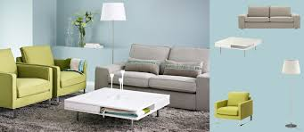 Grey Sofa Ikea Kivik Two Seat Sofa With Tenö Light Grey Cover Mellby Armchairs