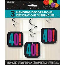 40th Bday Decorations Cheap Hanging Birthday Decorations Find Hanging Birthday