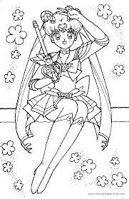 printable 41 sailor moon coloring pages 1806 sailor moon color