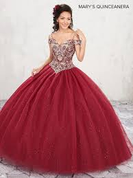 maroon quinceanera dresses beaded cold shoulder quinceanera dress by s bridal m4q1001