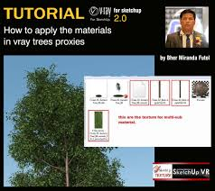 sketchup texture vray tutorial basic
