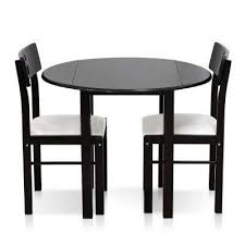 White Wooden Dining Table And Chairs Kitchen U0026 Dining Room Furniture Furniture The Home Depot
