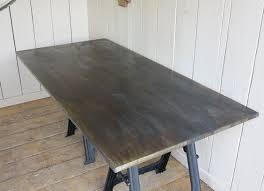 Zinc Table Top Handmade Metal Table Top Made Using Natural Zinc Metal