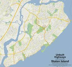 New York Islands Map by Mapping The Never Built Highways Of Nyc From Robert Moses And