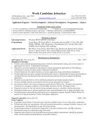 information technology graduate resume sle software developer resume exles free resume exle and