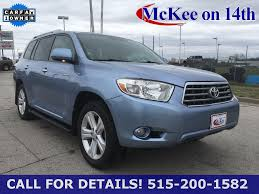 used lexus suv des moines used 2009 toyota highlander for sale des moines ia