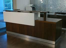 Custom Made Reception Desk Custom Made Duch Reception Desk Contemporary Reception Desk
