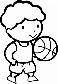 basketball pictures kids free download clip art free clip