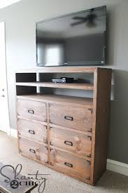 diy dresser diy media storage dresser shanty 2 chic